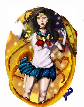 Wonder Woman Sailor Version