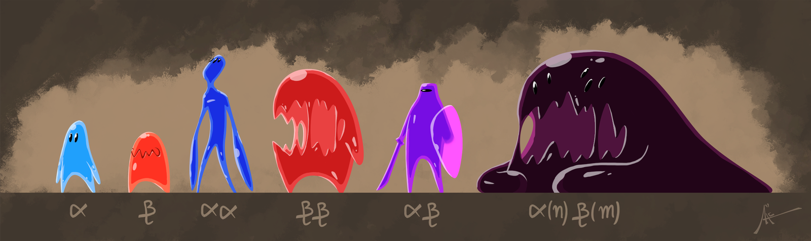 SLIMES by AceCavelier