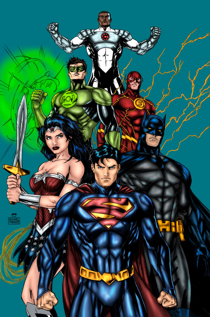Justice League by SaintMistery