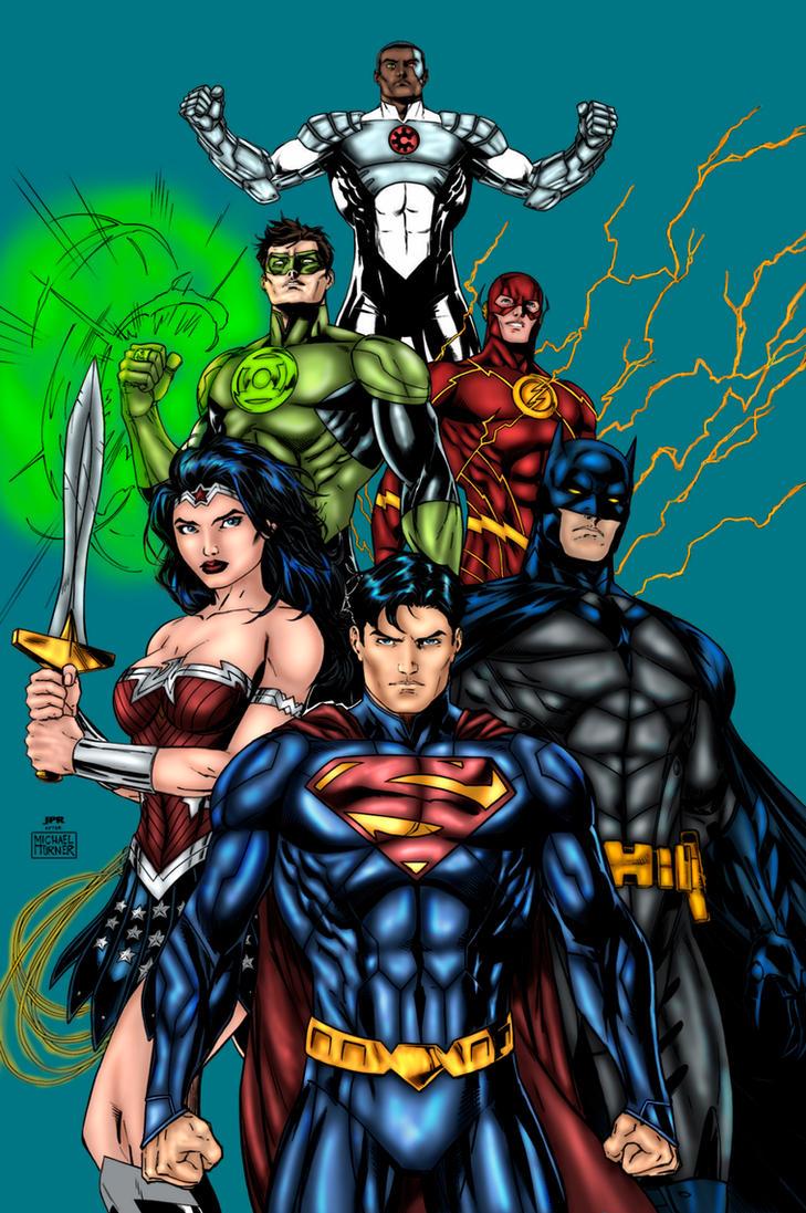 Justice League by SaintMistery
