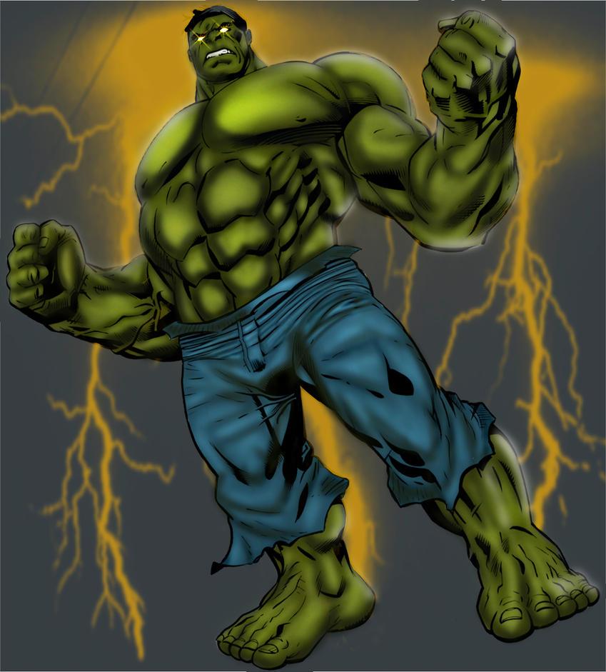 Hulk by SaintMistery