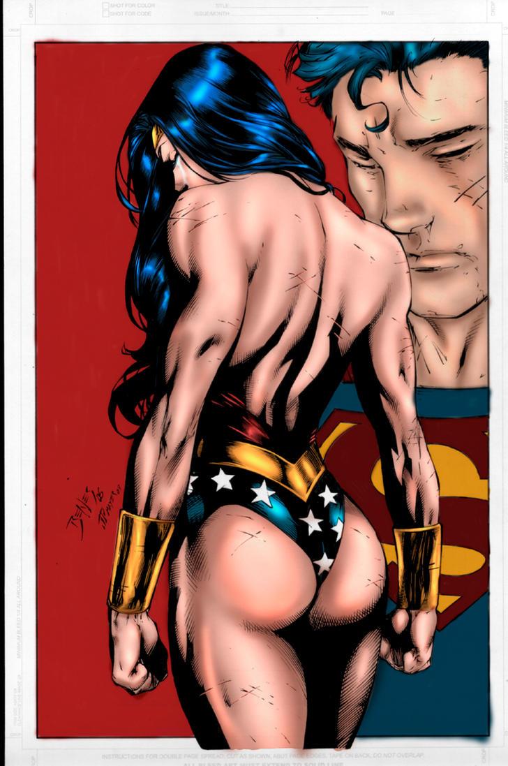 Wonder Woman and Superman by JPMayer by SaintMistery