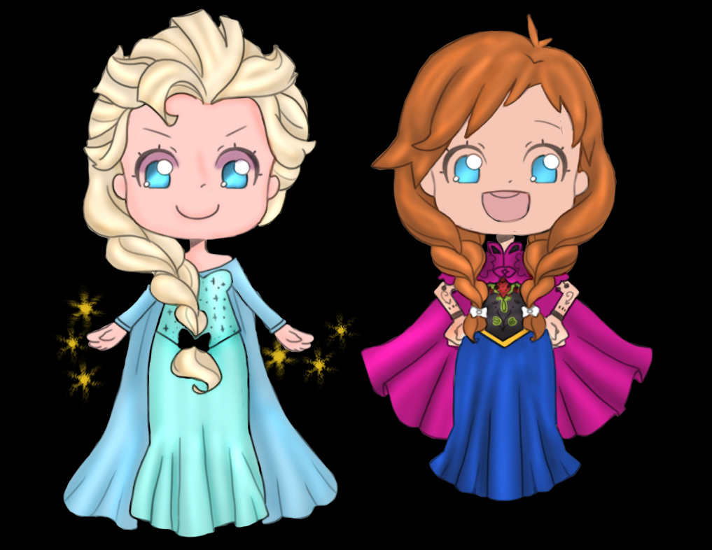 Frozen Outline Template By Omoiiki-d74izaq by SaintMistery