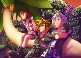 Kingdom Hearts 3 by Jeffanime