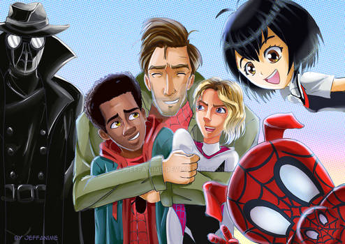 Spider-verse Group Pic