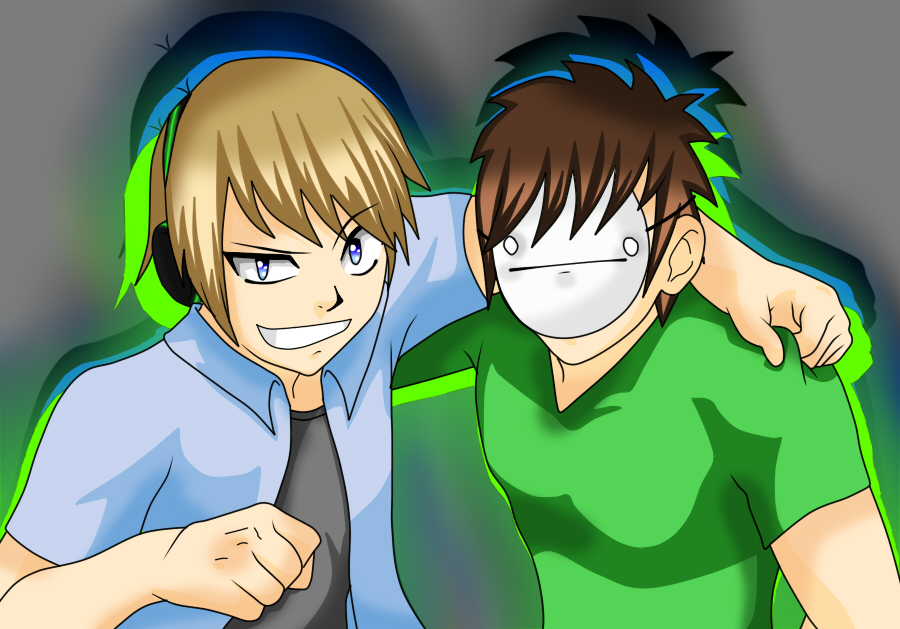 Pewdiepie and Cry! by sianbutler27 on DeviantArt