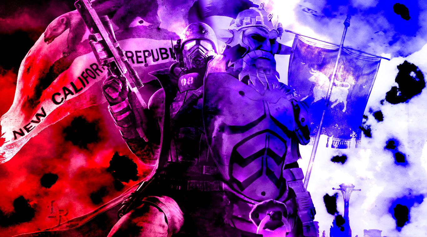 Fallout New Vegas Ncr Ranger Vs Caesar S Legion By Wampragos On