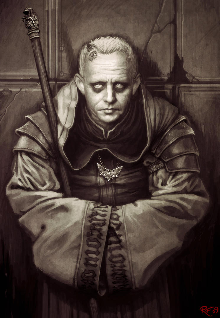 Dark Heresy: Gregan Hephastus by BluntieDK