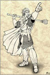 RPG character - Martul inking