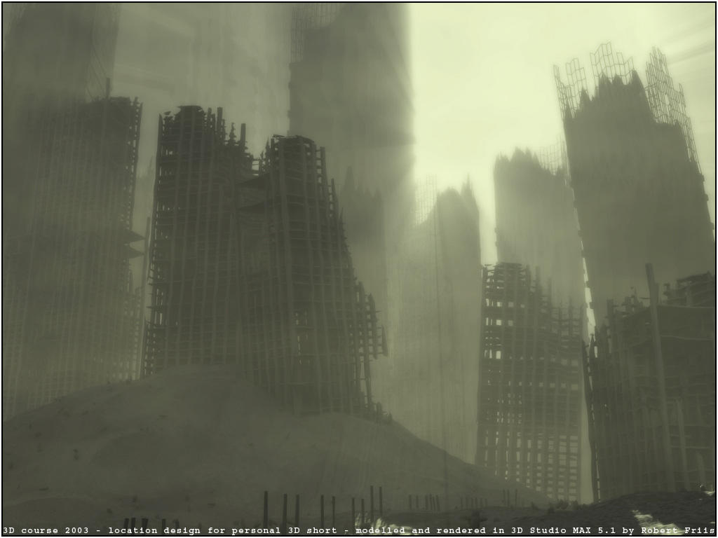 .:: Bombed Out Metropolis ::. by RobertFriis