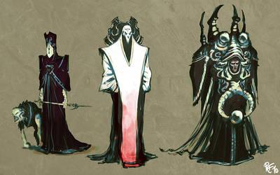 Priests by BluntieDK
