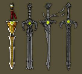 Googly-eyed swords