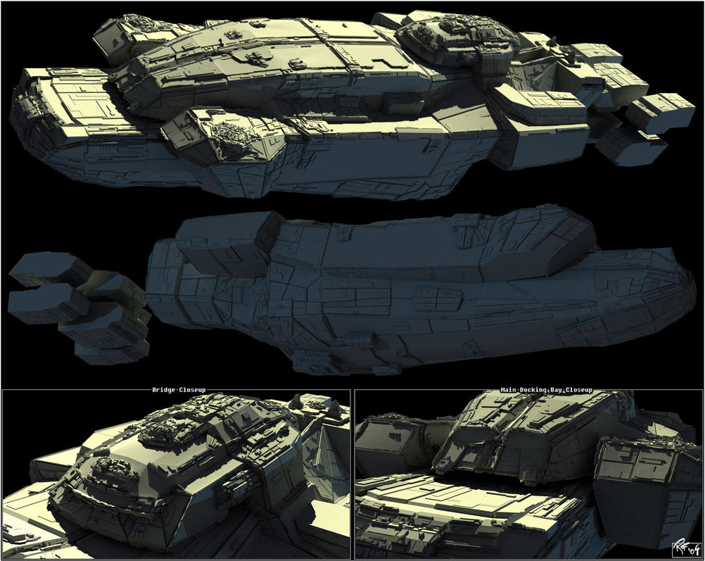 .: Cruiser WIP 02 :. by RobertFriis