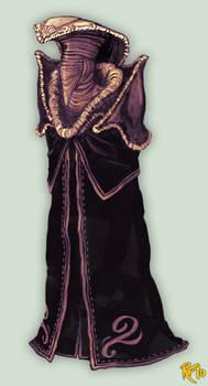 Cobra-styled plague-priest