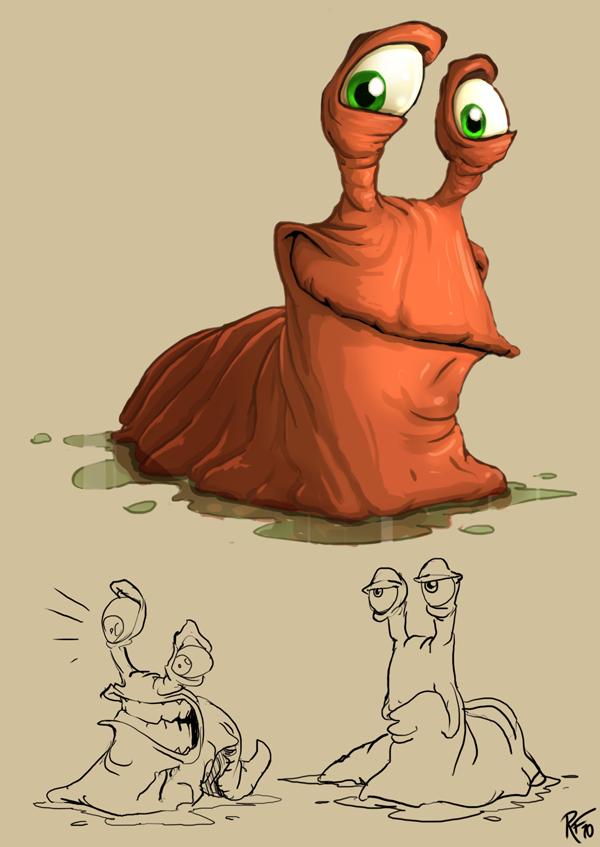 Snail by BluntieDK