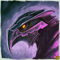 Falcobotamurai by BluntieDK