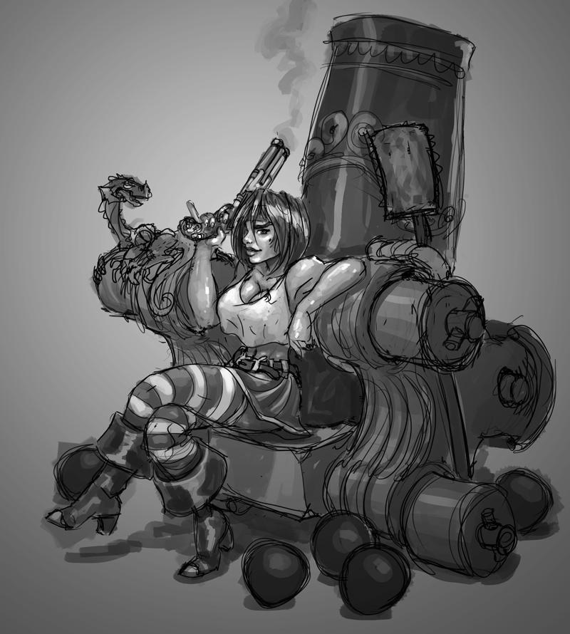 Sketch - Always be piratin' by RobertFriis
