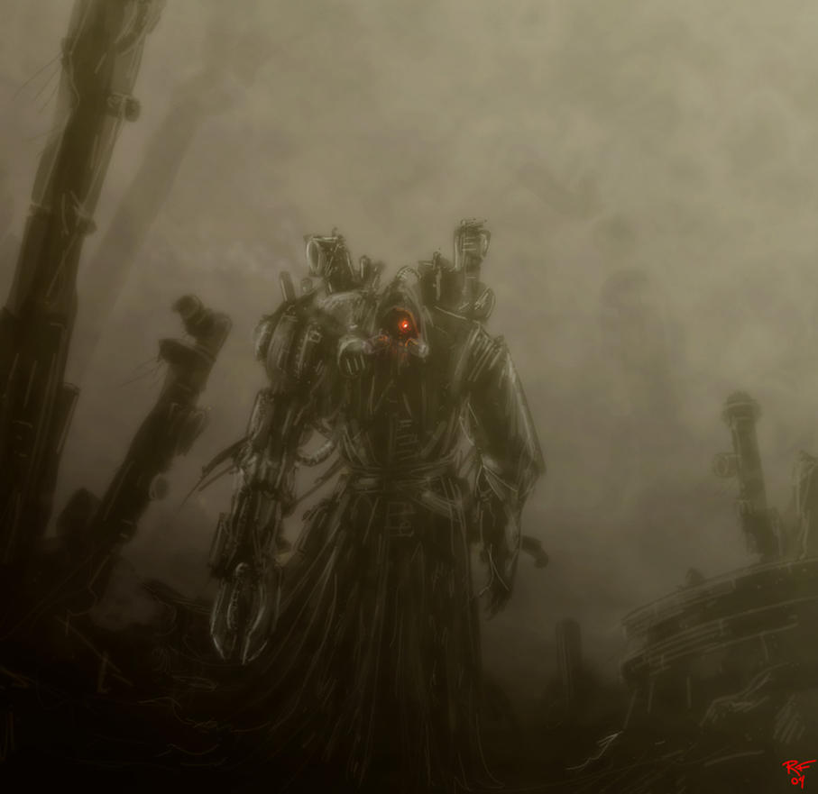 [W40K] Collection d'images : Adeptus Mechanicus 40K___Magos_Satchienkow_by_xadhoom