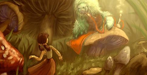Alice WIP4 by BluntieDK