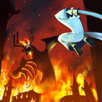 PREVIEW - Aku's last stand by BluntieDK