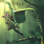 More Night Elf hunter - Finish