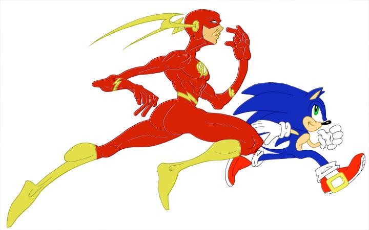 flash vs sonic - photo #33