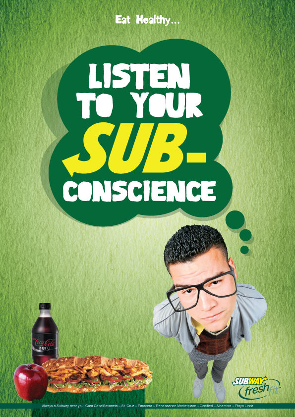 Subway Ad By Dewindt30 On Deviantart