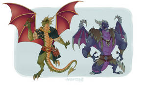 SPYRO GOTTA RESCUE ALL 80 DADS by Anisopterror
