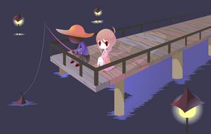 Yume Nikki - Docks by Thayora