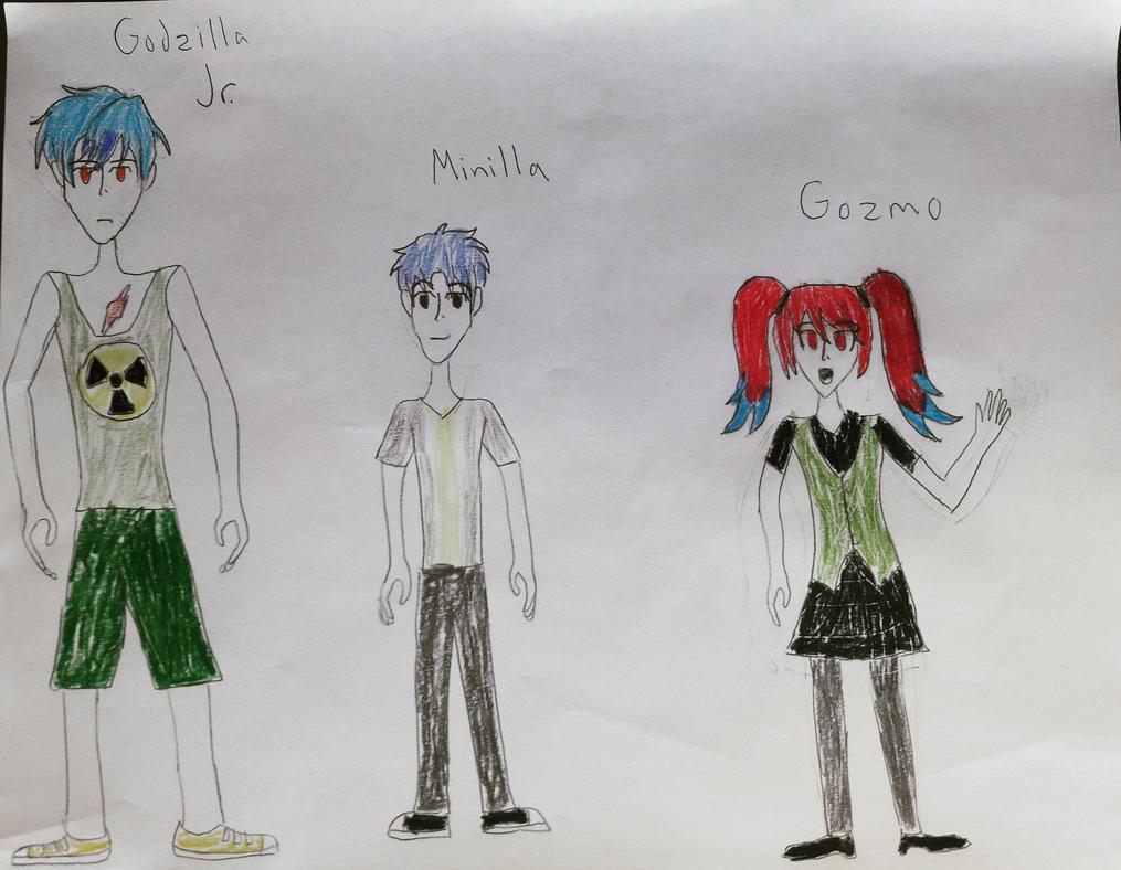 Gojira's Kids by Kaijufan113