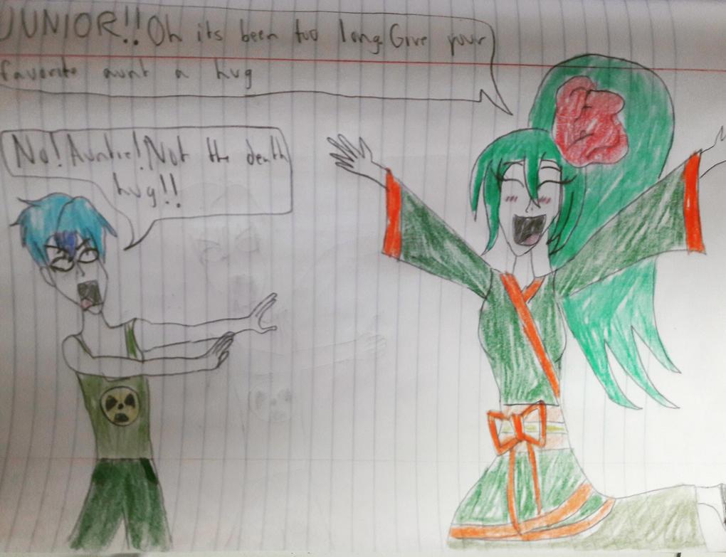 Not the Death Hug by Kaijufan113