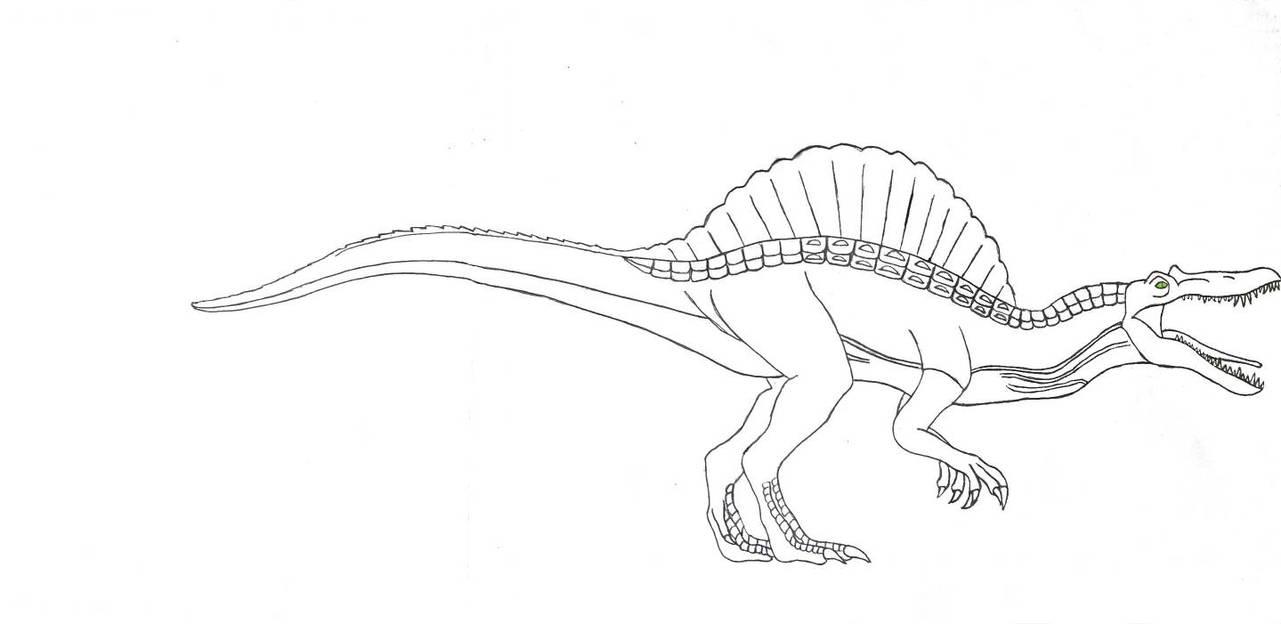 Jurassic Park 3 Spinosaurus Version 2 by Kaijufan113 on ...