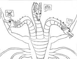 Titanus Ghidorah Personalities