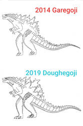 Monsterverse Godzilla Designs (Movie Accurate)