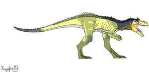 Battle at Big Rock Allosaurus (Dinotasia Coloring)