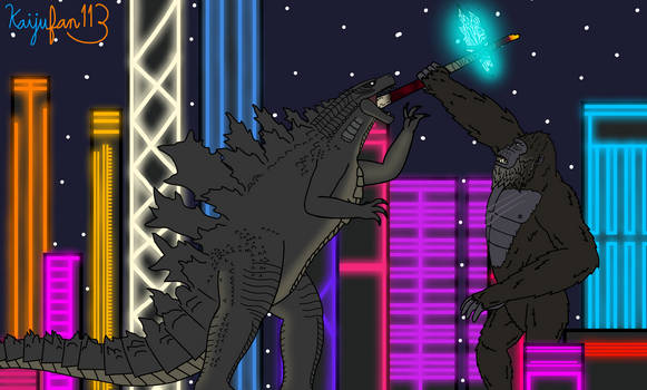 Godzilla VS Kong Eat Your Calcium