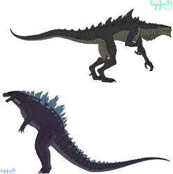 American Godzillas Color Switch