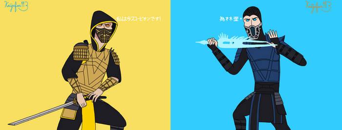 Mortal Kombat 2021 Scorpion VS Sub-Zero