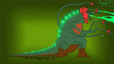 Monsterverse Biollante Concept + Lore