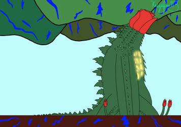 Monsterverse Biollante Dormant State