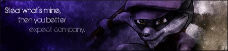 Sly Cooper Banner - PASBR by BloodyViruz