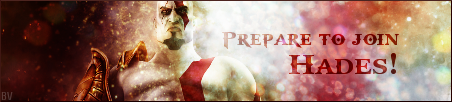 Kratos Banner - PASBR by BloodyViruz