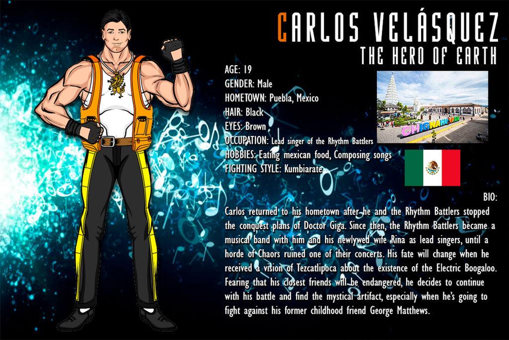 Battle Rhythm 2: Carlos' Biography by GreatDragonKid