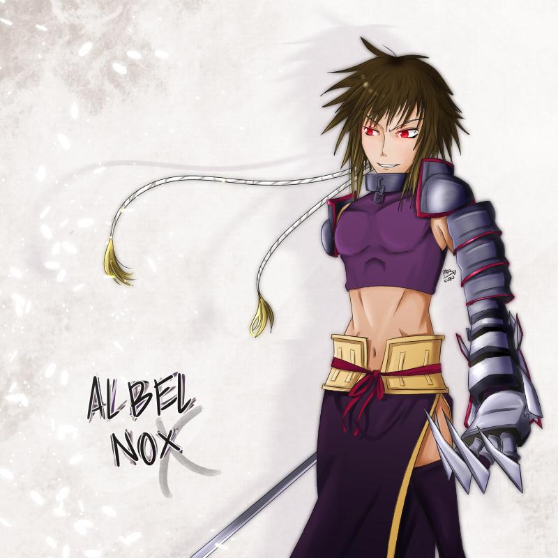 the divine spirit of language -- Albel Nox by Pan-kuzu