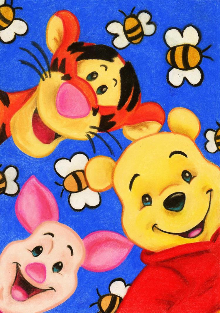 tigger pooh and piglet