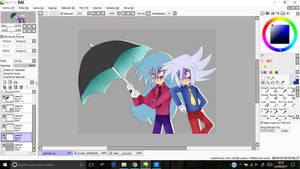.: Umbrella W.I.P- Colored :.
