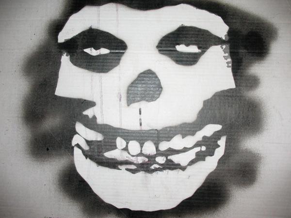 Misfits Stencil by Devilockfiend
