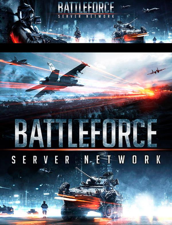 Battleforce Server Network (Battlefield 3) by JamesLedgerConcepts