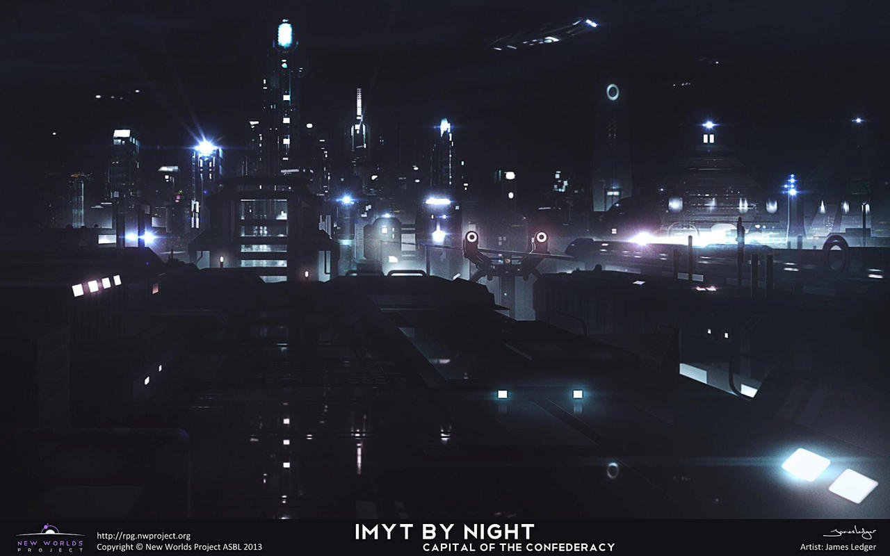 Imyt by night by JamesLedgerConcepts