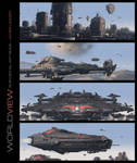Worldview Art Book - Military Concepts Collection